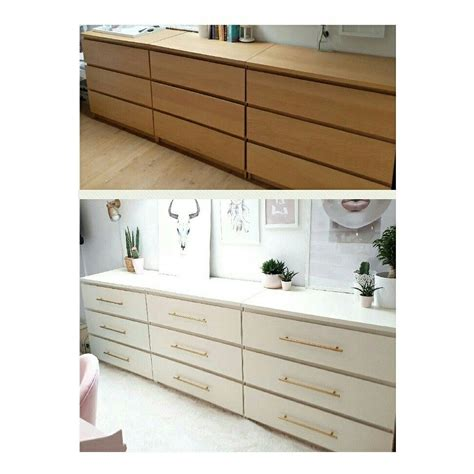 ikea hauptschlafzimmer before and after ikea hack malm drawers basteln