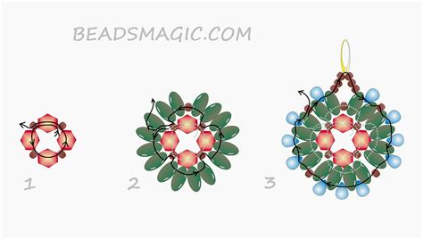 beading patterns free instructions earrings patterns beads magic