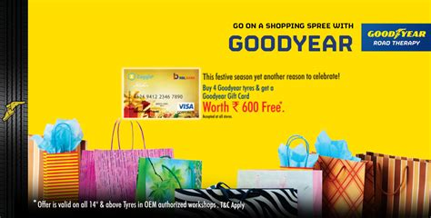 goodyear gift card offer for oem authorized workshops terms conditions goodyear - Goodyear Gift Card