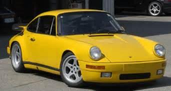 Porsche Yellowbird Of Ruf Ctr Yellowbird On Nurburgring Porschebahn