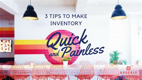 Tips For Creating An Inventory - 3 tips for a painless inventory process