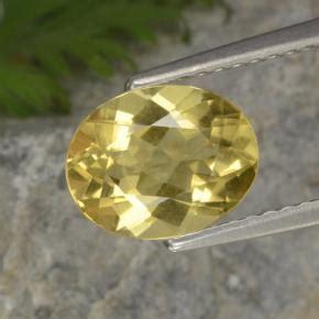 Calsedon Golden Cat Eye 1 5 carat oval 8 8x7mm and untreatedyellow golden