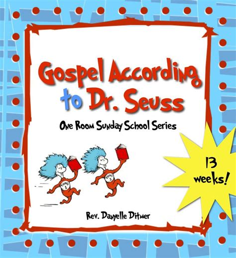 Free Bible Lessons For Dr Seuss Books
