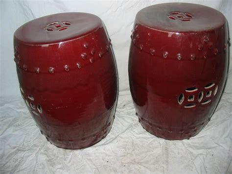 antique green porcelain drum stool buy porcelain