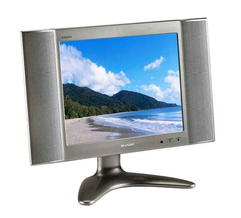 Tv Flat Lcd Sharp sharp aquos lc 13b2ua lcd flat screen monitor sharp lc13b2ua