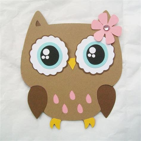 Best Photos Of Owl Cubeecraft Template Paper Owl Craft - 17 best images about owl die cuts and templates on
