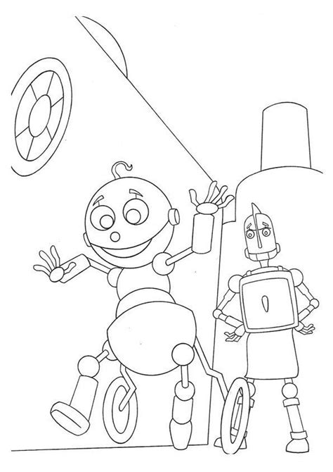 benerator robot factory a coloring book featuring illustrations by ben nunez volume 1 books coloring page robots coloring pages 5