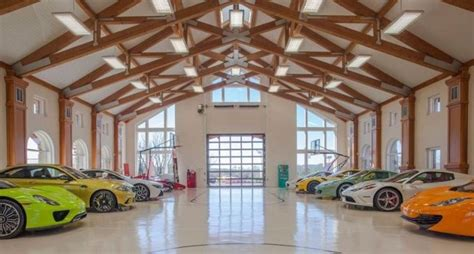 10 car garage main house pricey pads michael fux lists 6 000 sq ft new jersey home with