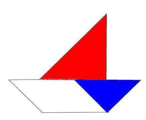 imagenes de barcos con tangram tangram y matematicas