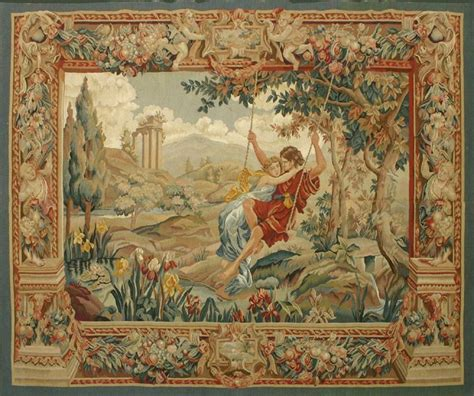 Tapisserie Gobelins by Collection Of Tapestries And Embroidery