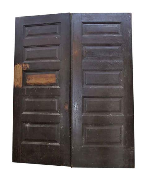 salvaged interior doors salvaged pair of pocket doors olde things