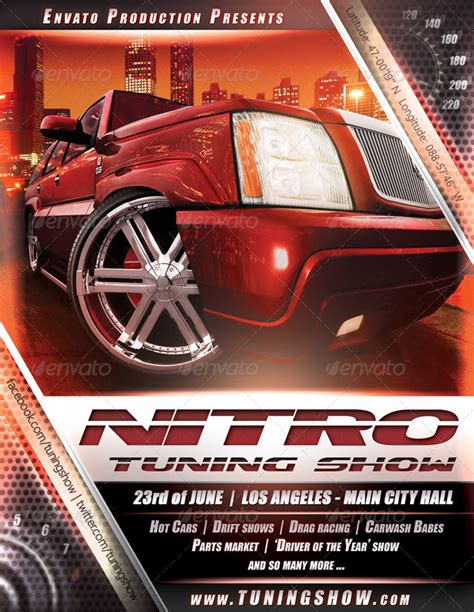 template tuning nitro tuning show flyer by danielkemeny graphicriver