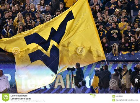 West Virginia Judiciary Search Results West Virginia Flag Pregame At A Football Editorial Photo Cartoondealer