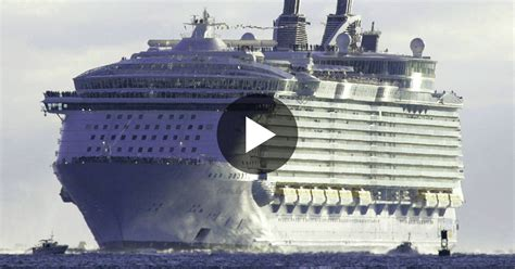 largest ship in the world the largest cruise ship in the world is five times