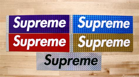 supreme stickers embalm supreme sticker collection clarence nathan