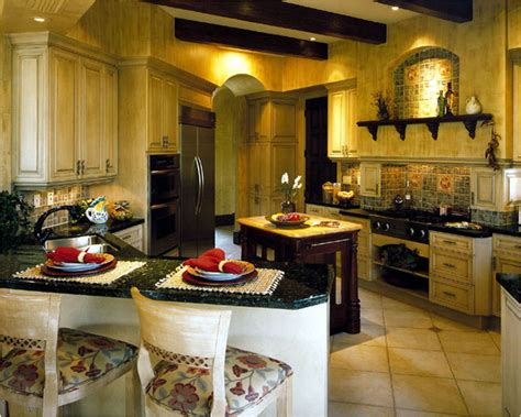 Tuscan Style Kitchen Canisters by Tuscan Kitchen Ideas Room Design Ideas