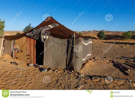 tende beduini la tenda dei beduini nel marocco fotografia stock