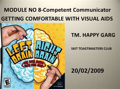 Get Comfortable With Visual Aids by Right Or Left