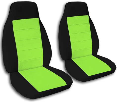 totally awesome car seats two tone car seat covers front semi custom black