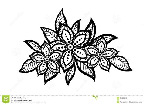 motif pattern and profile simple flower patterns www imgkid com the image kid