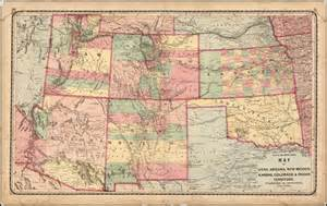 map of utah arizona new mexico kansas colorado and