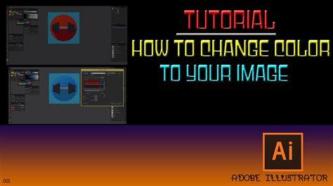 adobe illustrator recolor pattern tutorial recolor artwork in adobe illustrator youtube