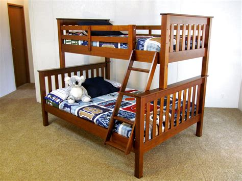 Twin Over Full Solid Wood Bunk Bed Quot The Coolabah Quot Free Bunk Bed Free Shipping