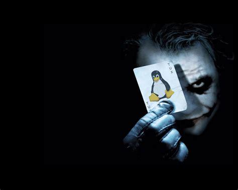 joker mejores imagenes tux with command wallpaper linux blog