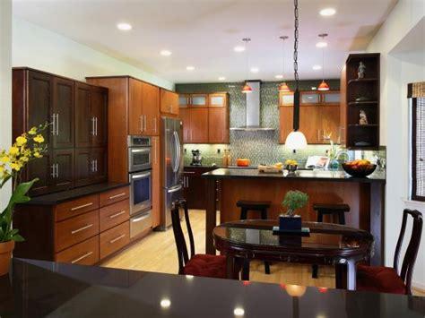modern asian kitchen design photo page hgtv