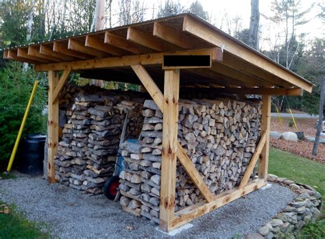 cheap diy firewood rack firewood storage shed plans a simple solution into the