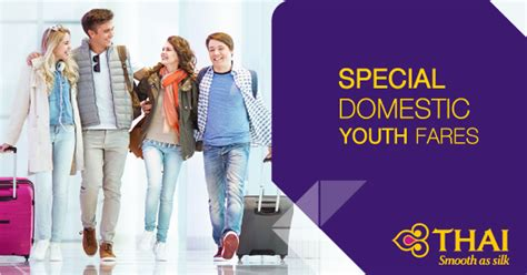 special domestic youth fares 2018 promotions thai airways