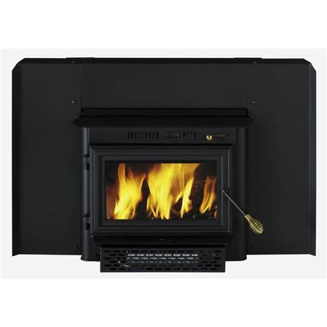Summers Plumbing Heating And Cooling Reviews by Shop Summers Heat 1 500 Sq Ft Wood Stove Insert At Lowes