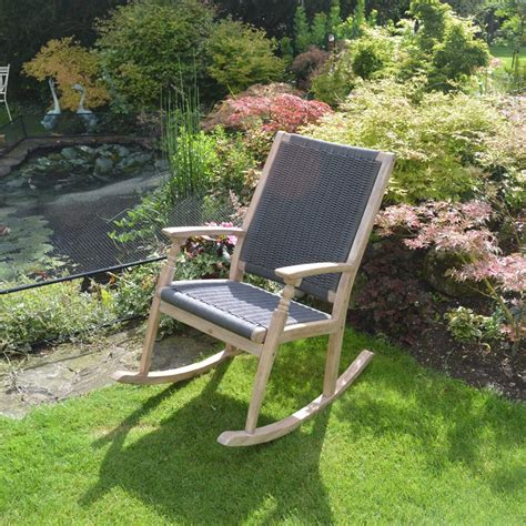 Garden Rocking Chair Uk Leisuregrow Hanoi Harbour Rocking Chair Gardener