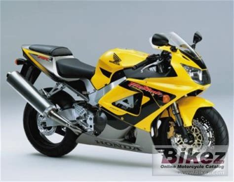 2001 honda cbr 900 rr fireblade specifications and pictures