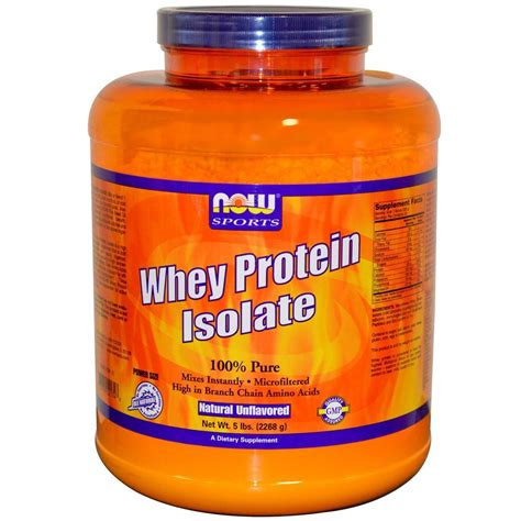 Whey Protein 5 Lbs whey protein isolate unflavored 5 lb now foods 733739021748 ebay