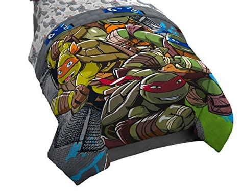 teenage mutant ninja turtles comforter full nickelodeon jf28308ecd nickelodeon teenage mutant ninja
