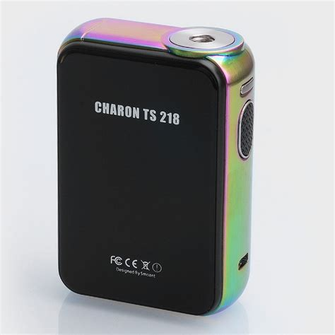 Mod Smoant Charon 218watt Authentic authentic smoant charon ts 218 touch screen rainbow tc vw box mod