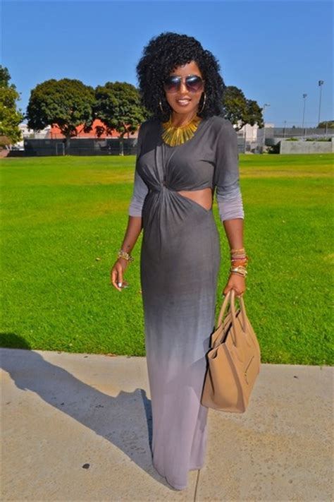 Style Pantry Real Hair by Gray Ombre Cut Out Ombre Dresses Quot Chictopia Shop
