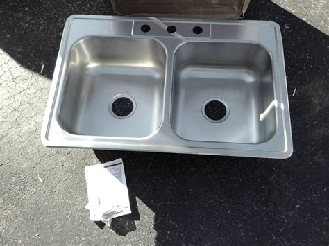 Dayton Kitchen Sinks Elkay Dxr33223 Dayton 33x22x8 Stainless Steel Bowl Kitchen Sink Yourplumberscrack Offers