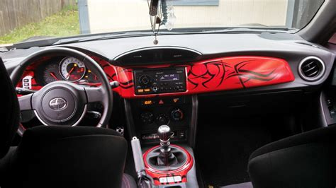 subaru brz custom interior my custom dash in my frs scion fr s forum subaru brz