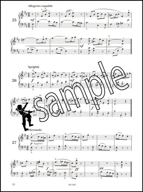 Piano Specimen Sight Reading 4 piano specimen sight reading tests for piano abrsm grade 5 hamcor