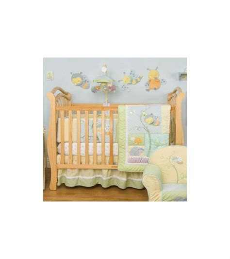 kidsline crib bedding kidsline snug as a bug 8 piece crib bedding set