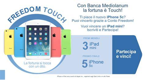 mediolanum conto corrente conto corrente mediolanum regala iphone 5c o mini