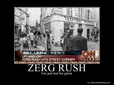 Rush Meme - image 19179 zerg rush know your meme