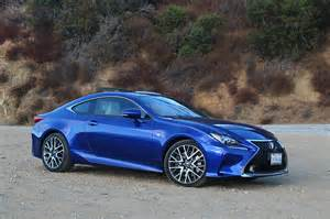 Lexus Rc Sport 2016 Lexus Rc 350 F Sport One Week Review Automobile
