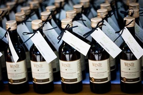 Wedding Favors Wine by Un Matrimonio Di Vino