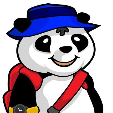 Panda Bip the traveling panda