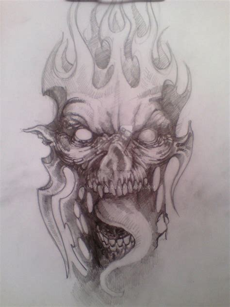 demon tattoo design to cover up by gampyyy92 on deviantart