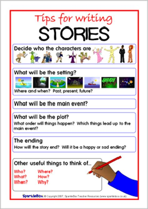 new year 2015 story ks1 tips for writing stories visual aid sb6504 sparklebox