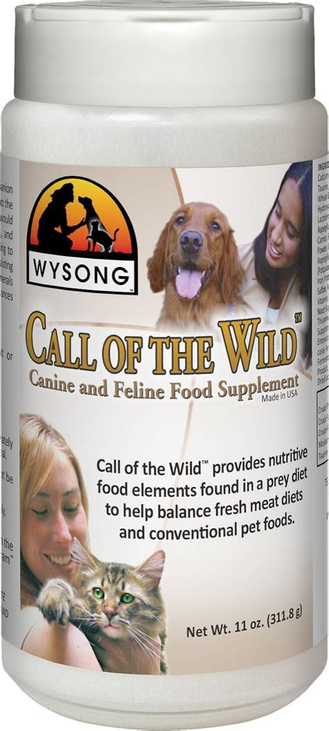 call of the food wysong call of the cat food supplement 11oz cat earnest mutts pet